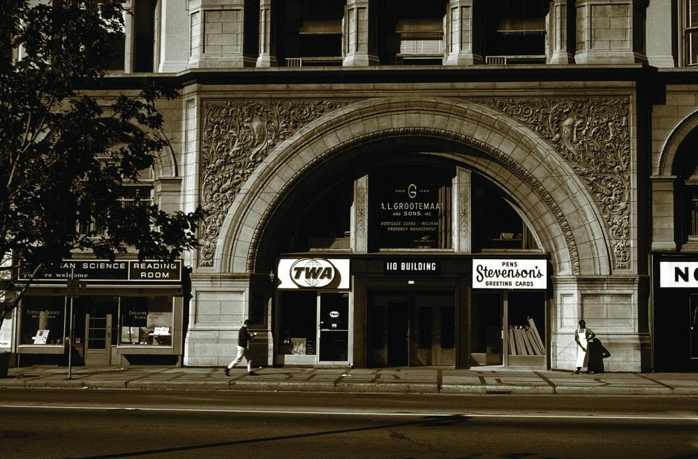 Archway of Pabst Building, 110 East Wisconsin Avenue.  Demolished 1981.